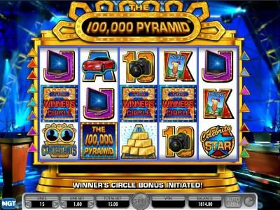 BGO Vegas featuring the Video Slots 100,000 Pyramid with a maximum payout of $250,000