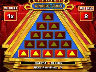 Vegas Spins featuring the Video Slots 100,000 Pyramid with a maximum payout of $250,000