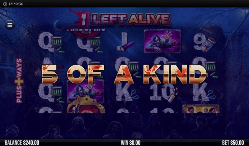 1 Left Alive :: Five of a kind