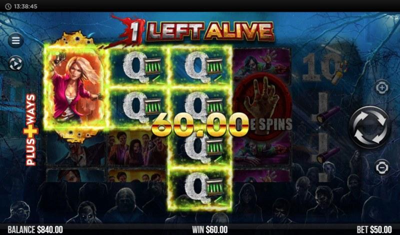 1 Left Alive :: Multiple winning combinations