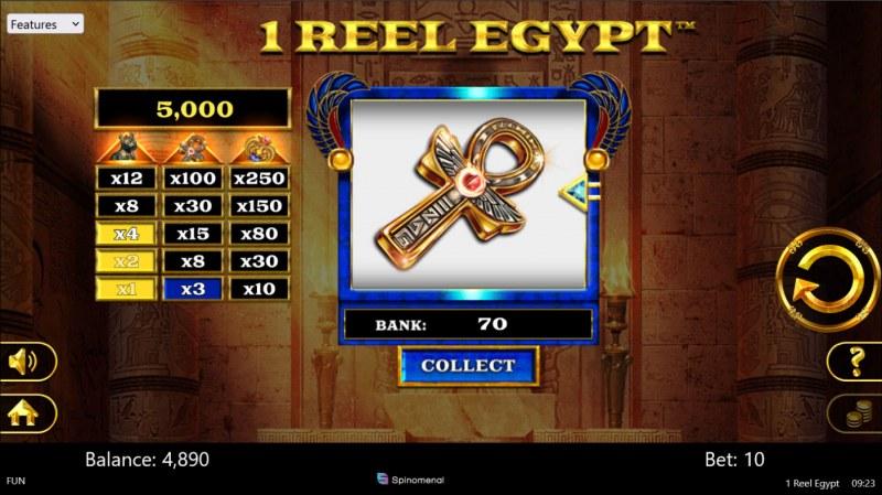 1 Reel Egypt :: a win
