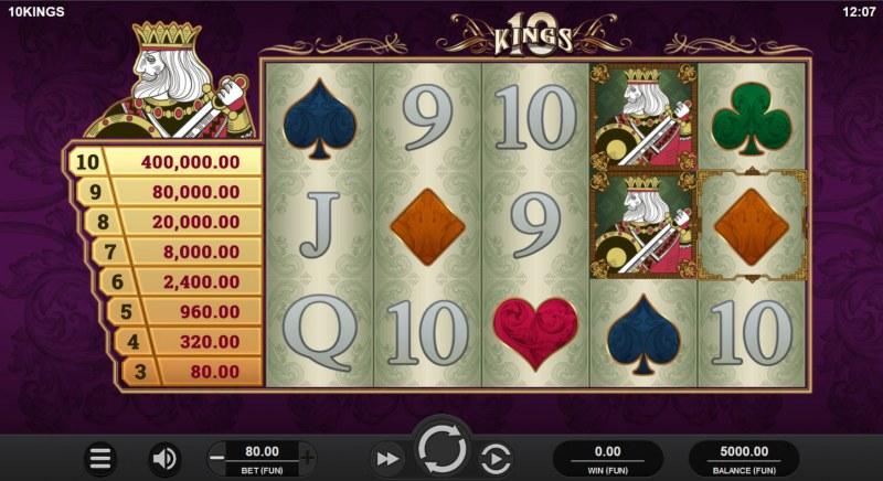 10 Kings :: Main Game Board