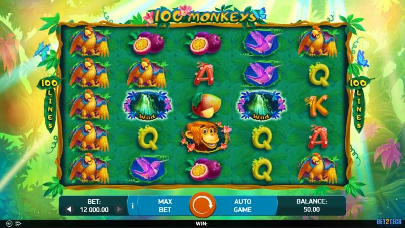100 Monkeys :: Main Game Board