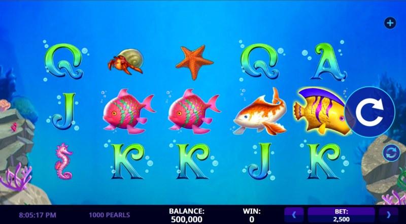 1000 Pearls :: Main Game Board