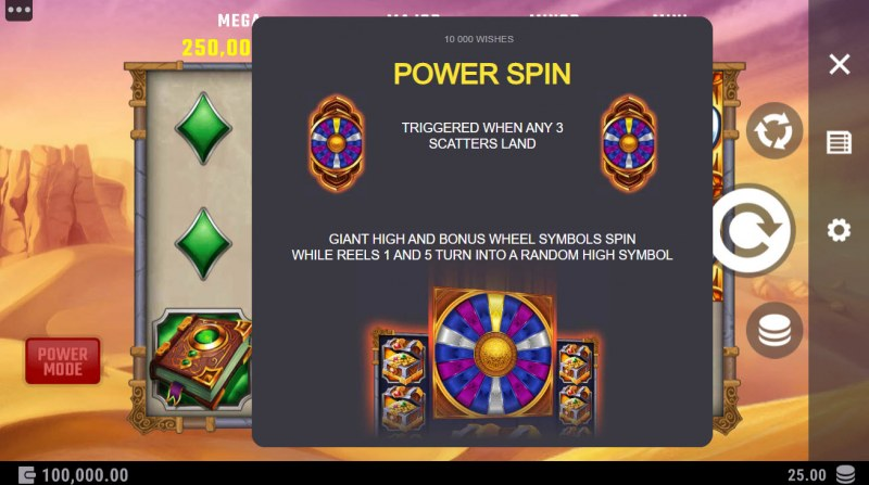 10000 Wishes :: Power Spin