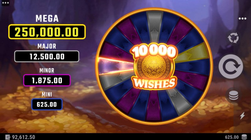 10000 Wishes :: Spin the wheel for a chance to win one of 4 jackpots
