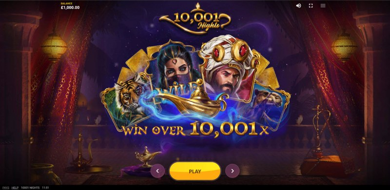 10,001 Nights :: Win Up To 10,001 Coins