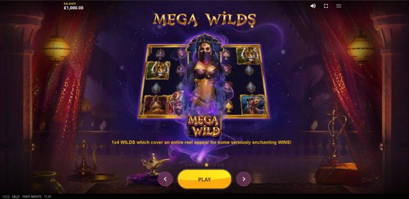 10,001 Nights :: Mega Wilds