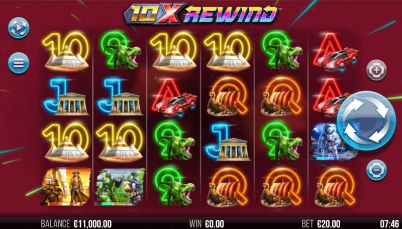 10X Rewind :: Base Game Screen