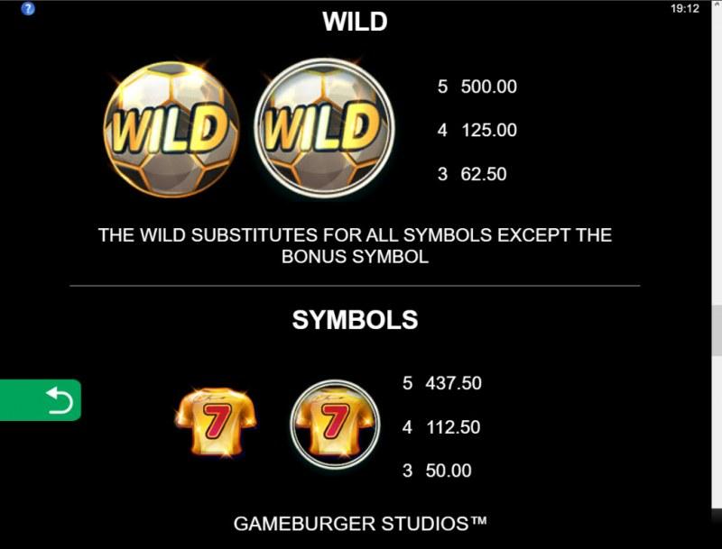 11 Champions :: Wild Symbol Rules