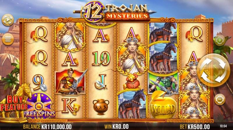 12 Trojan Mysteries :: Base Game Screen