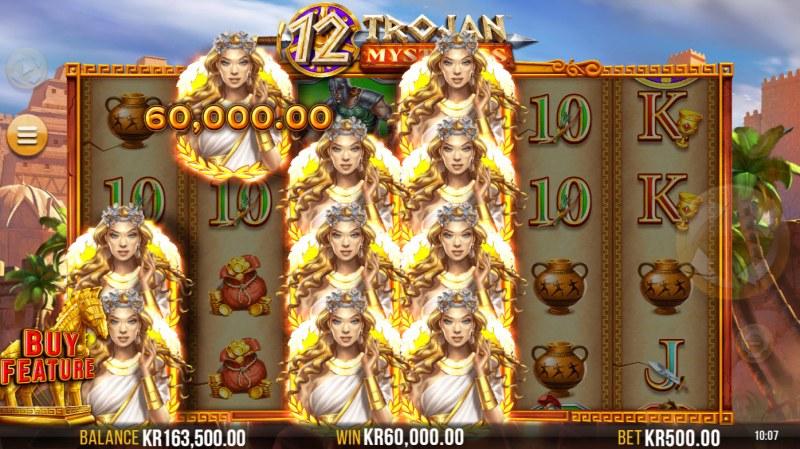 12 Trojan Mysteries :: Multiple winning combinations lead to a big win