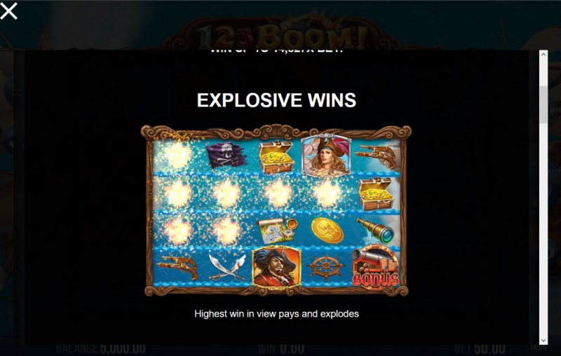123 Boom! :: Explosive Wins