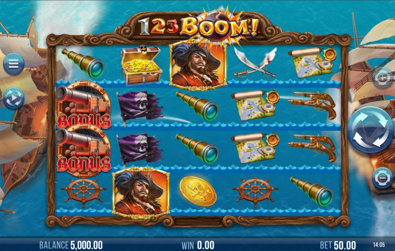 123 Boom! :: Main Game Board
