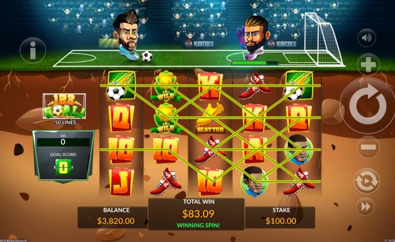 123 Goal :: Multiple winning paylines