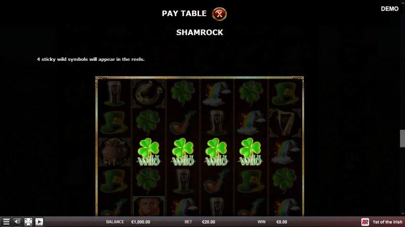 1st of the Irish :: Shamrock feature