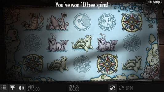 Orientxpress featuring the Video Slots 1429 Uncharted Seas with a maximum payout of $5,000