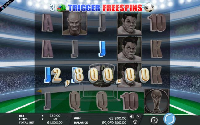 Come On featuring the Video Slots 2018 World Cup Football with a maximum payout of $1,200,000