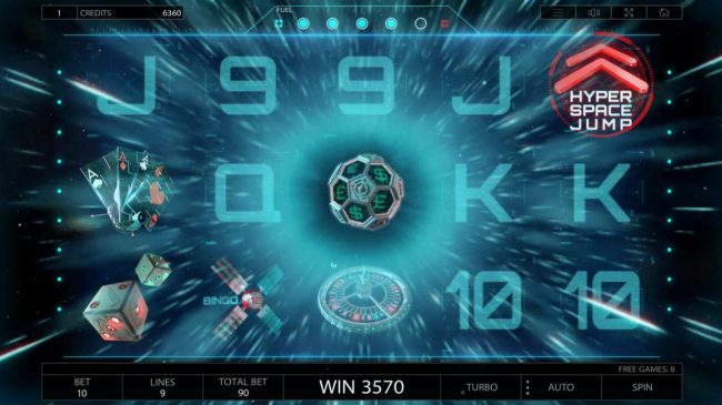 Play slots at CryptoWild: CryptoWild featuring the Video Slots 2027 ISS with a maximum payout of $900,000