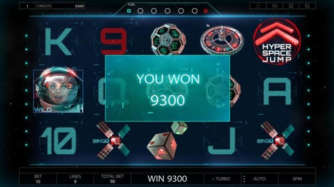Betchain featuring the Video Slots 2027 ISS with a maximum payout of $900,000