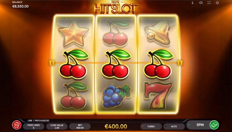 2021 Hit Slot :: A three of a kind win
