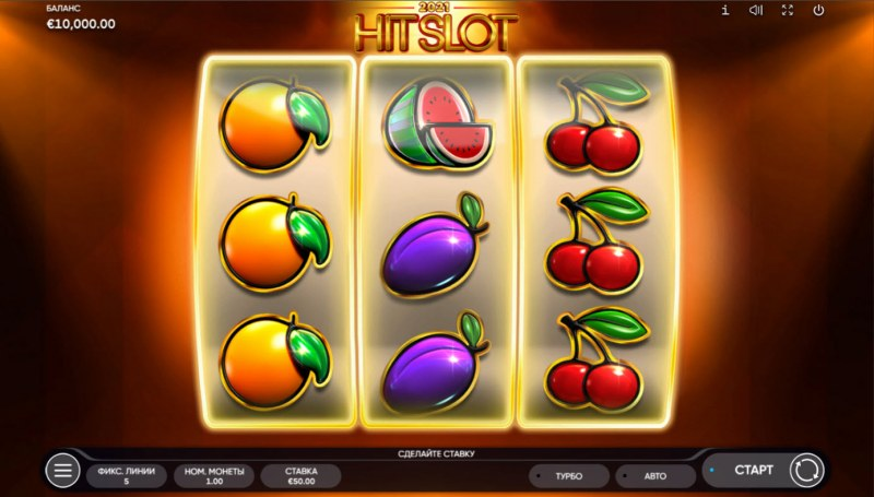 2021 Hit Slot :: Base Game Screen