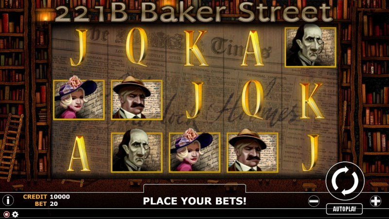 221B Baker Street :: Main Game Board