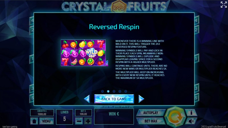 243 Crystal Fruits Reversed :: Reversed Respin