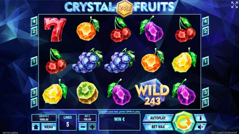 243 Crystal Fruits Reversed :: Base Game Screen