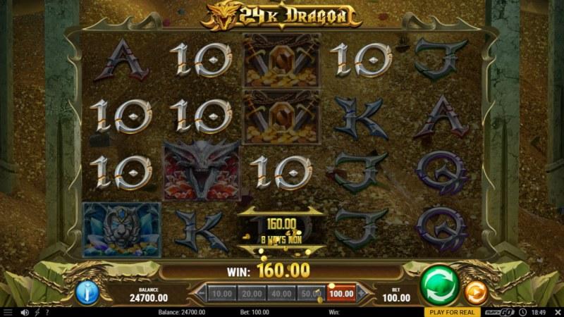 24K Dragon :: Multiple winning combinations