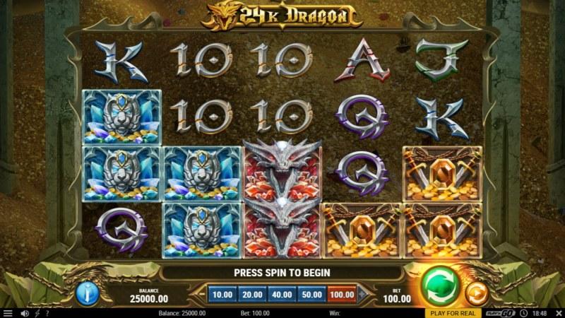 24K Dragon :: Main Game Board