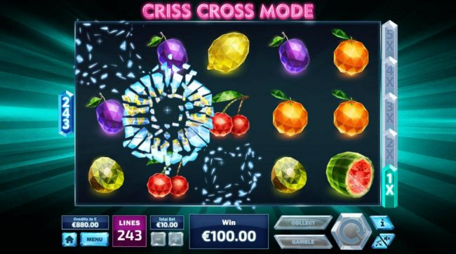 Royale24 featuring the Video Slots 243 Crystal Fruits with a maximum payout of $120