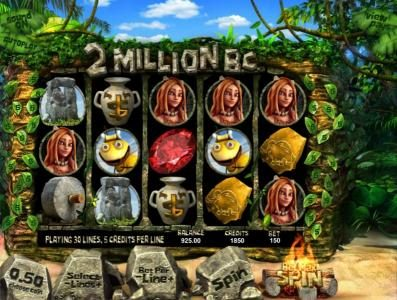 Play slots at Thrills: Thrills featuring the Video Slots 2 Million B.C. with a maximum payout of $7,500