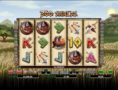 Play slots at Casino Superlines: Casino Superlines featuring the Video Slots 300 Shields with a maximum payout of $200