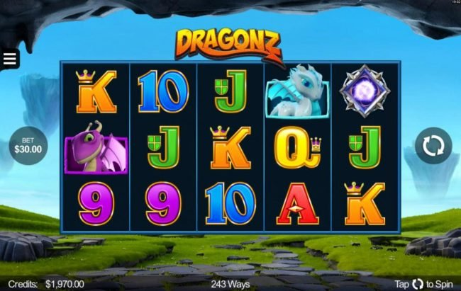 Play slots at Quatro: Quatro featuring the Video Slots Dragonz with a maximum payout of $2,150,000