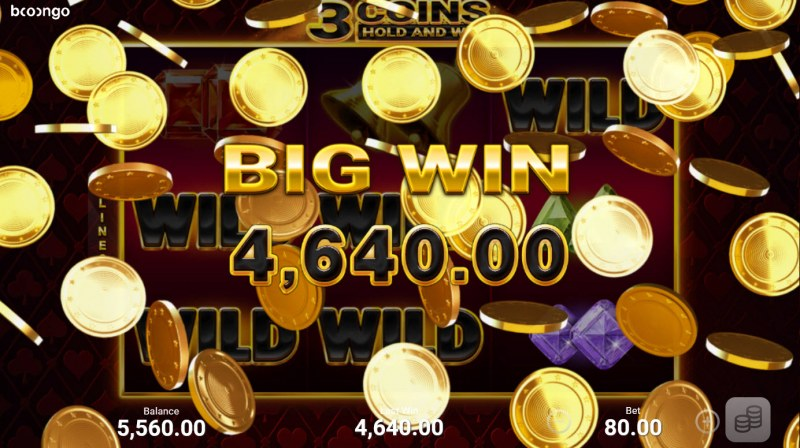3 Coins Hold and Win :: Big Win