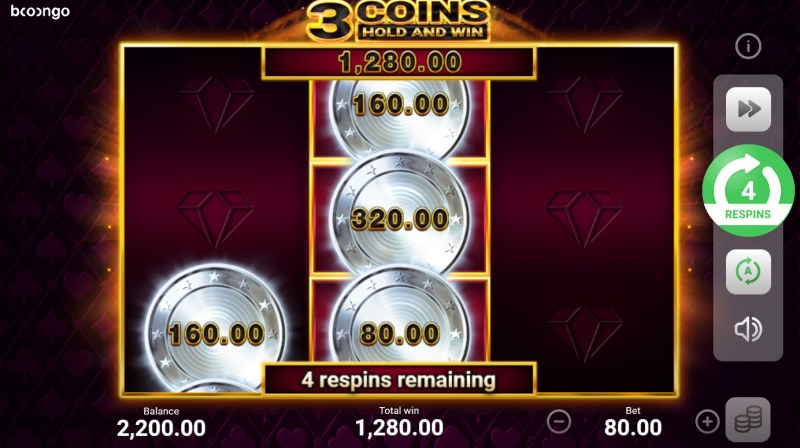 3 Coins Hold and Win :: Multiple winning combinations