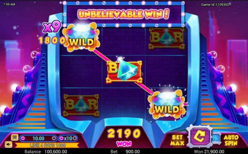 3 Diamonds :: X9 win multiplier