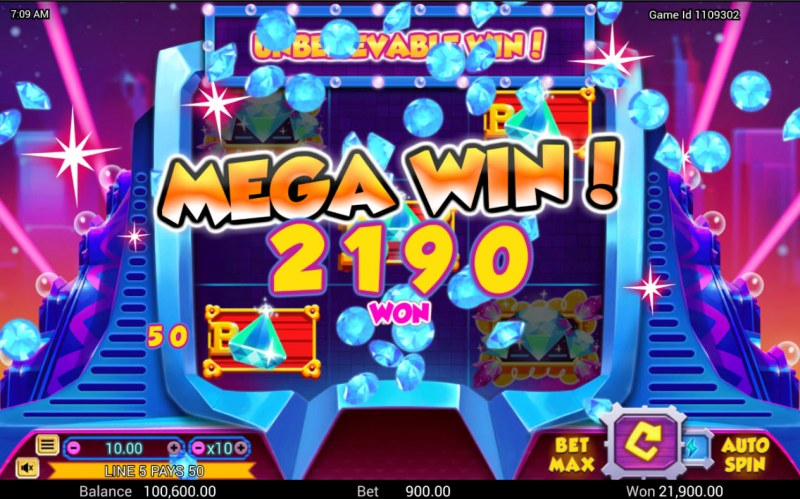 3 Diamonds :: Mega Win