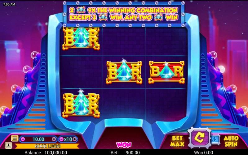 3 Diamonds :: Main Game Board