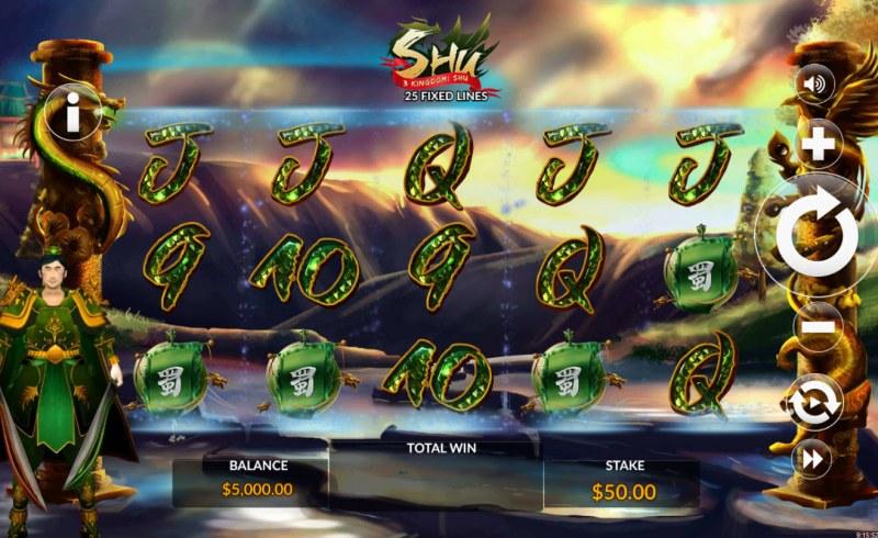 3 Kingdom Shu :: Main Game Board
