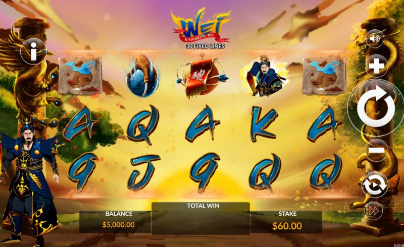 3 Kingdom Wei :: Main Game Board