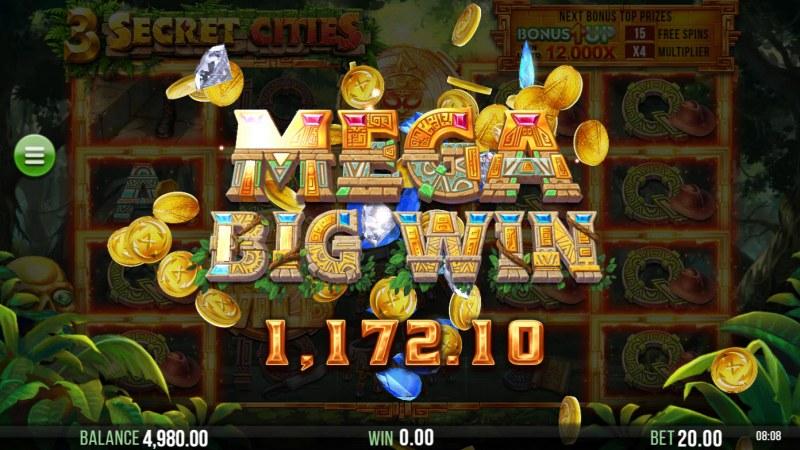 3 Secret Cities :: Mega Win
