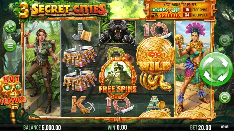 3 Secret Cities :: Base Game Screen