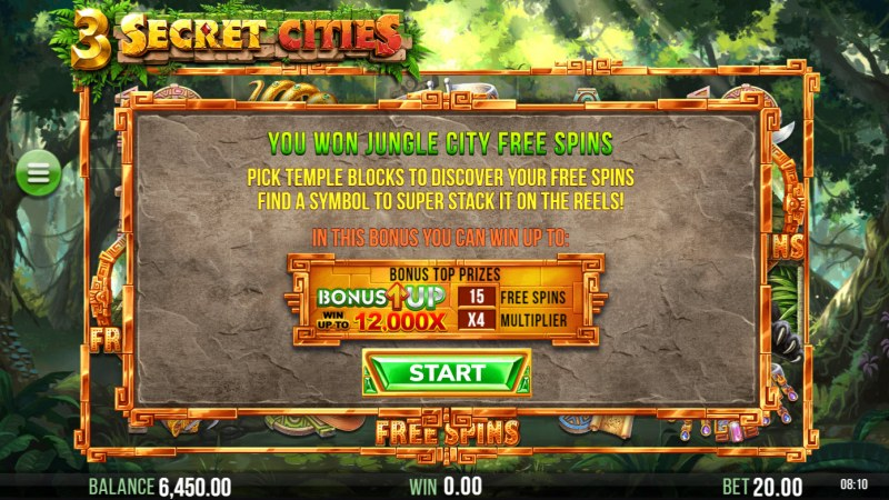 3 Secret Cities :: You Won Jungle City Free Spins