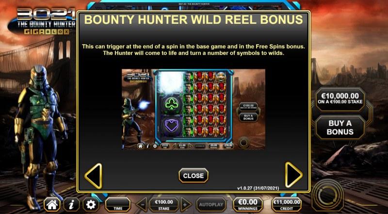 3021 The Bounty Hunter Gigablox :: Bounty Hunter Wild Reel Feature
