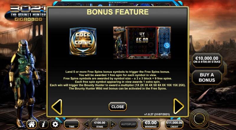 3021 The Bounty Hunter Gigablox :: Bonus Feature
