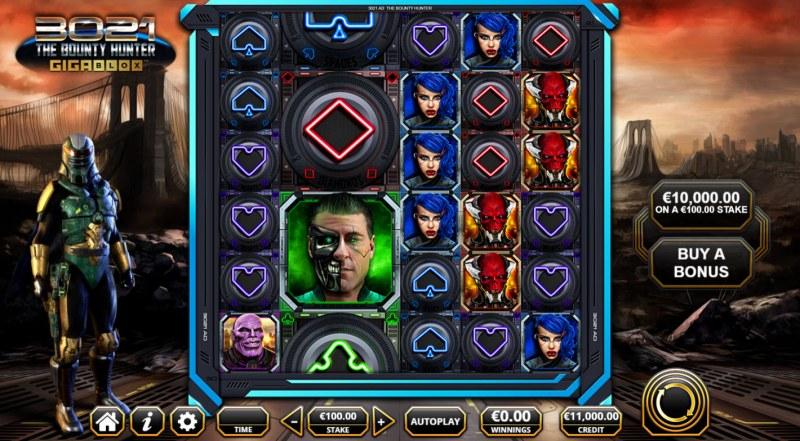 3021 The Bounty Hunter Gigablox :: Base Game Screen