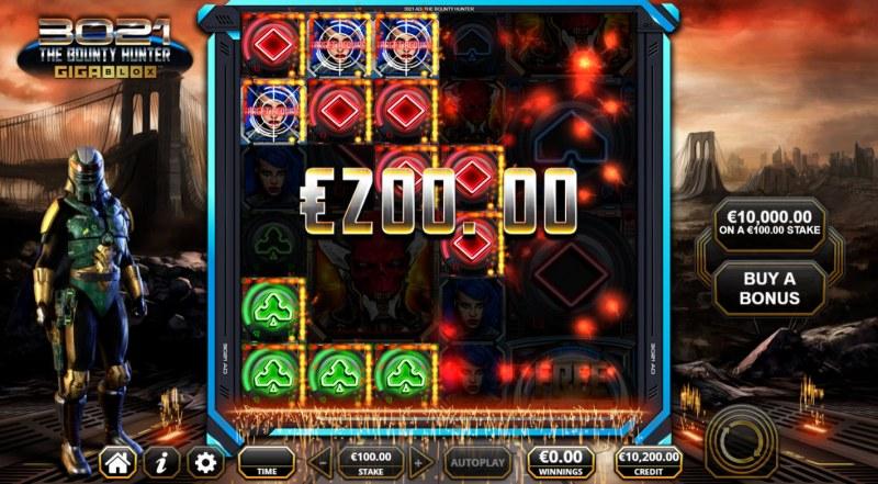 3021 The Bounty Hunter Gigablox :: Multiple winning paylines