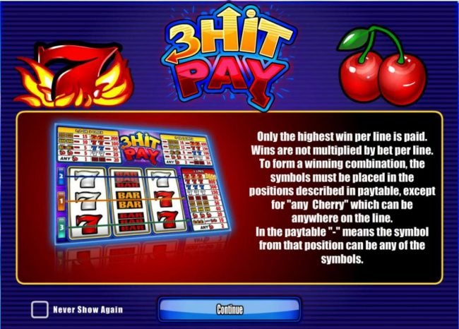 Play slots at Joker Casino: Joker Casino featuring the Video Slots 3 Hit Play with a maximum payout of $54,000